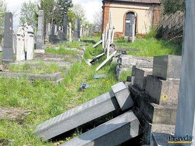 הרס וחורבן בבית העלמין בקושיצא - קאשוי