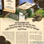 מודעת פרסומת עבור הספר מורה דרך למקומות הקדושים בהונגריה