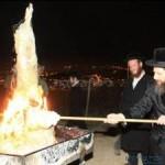 הדלקה בקבר שמואל הנביא